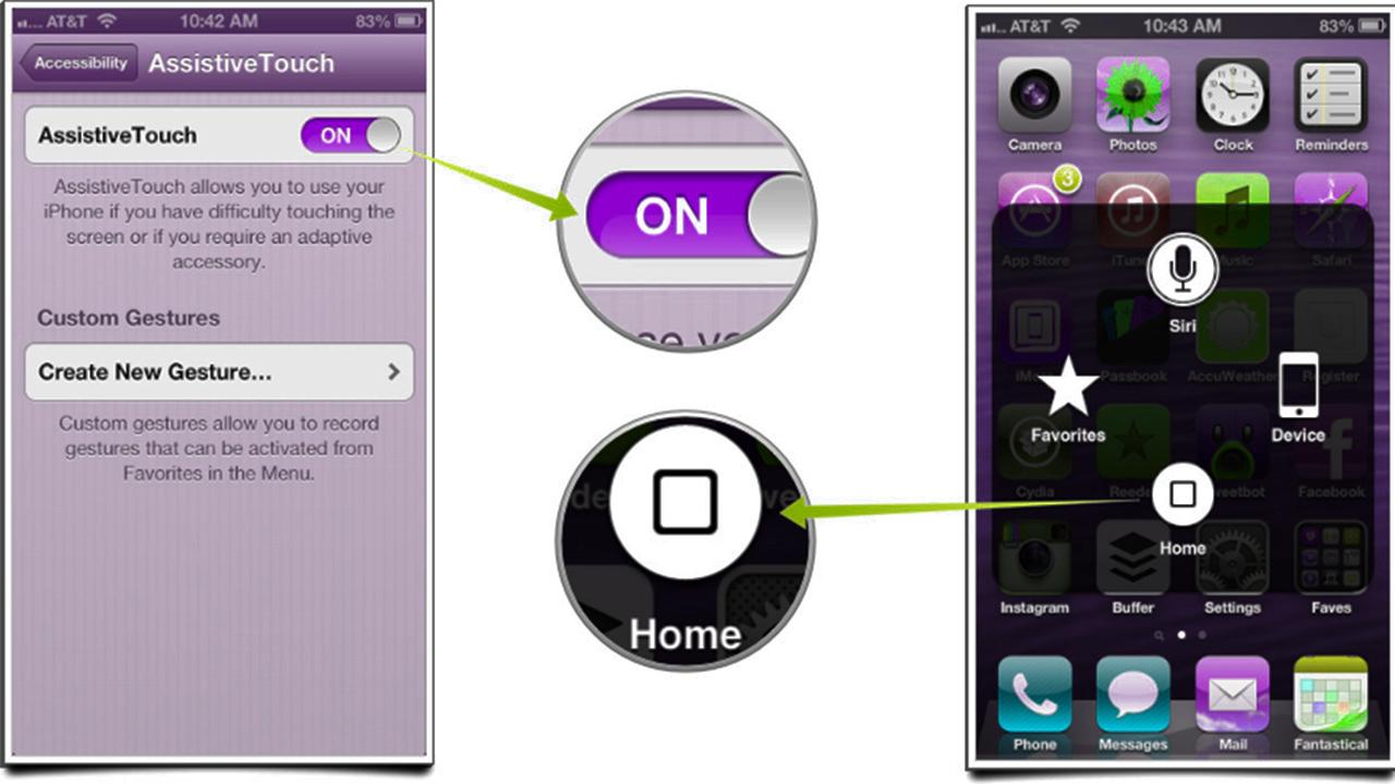iPhone, iPad AssistiveTouch'ı Kullanma Rehberi