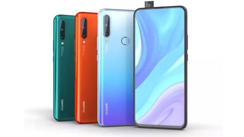 Huawei Çerçevesiz Ekrana Sahip Olan Telefonu Enjoy 10 Plus'ı Duyurdu.