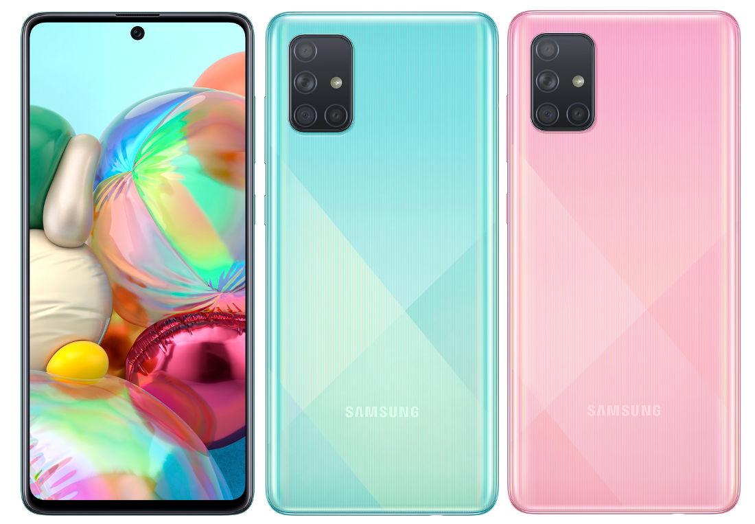 Samsung 64 MP Kameraya Sahip Telefonu A71'i Tanıttı