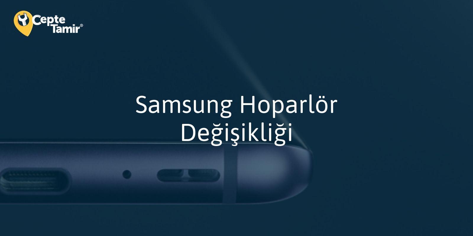 Samsung Hoparlör Değişimi
