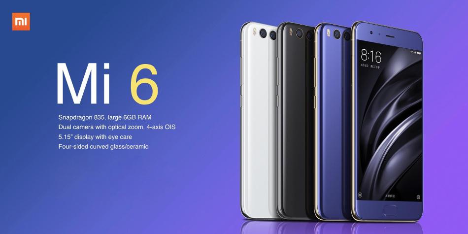 Xiaomi Mi 6 Özellikler ve Fiyat