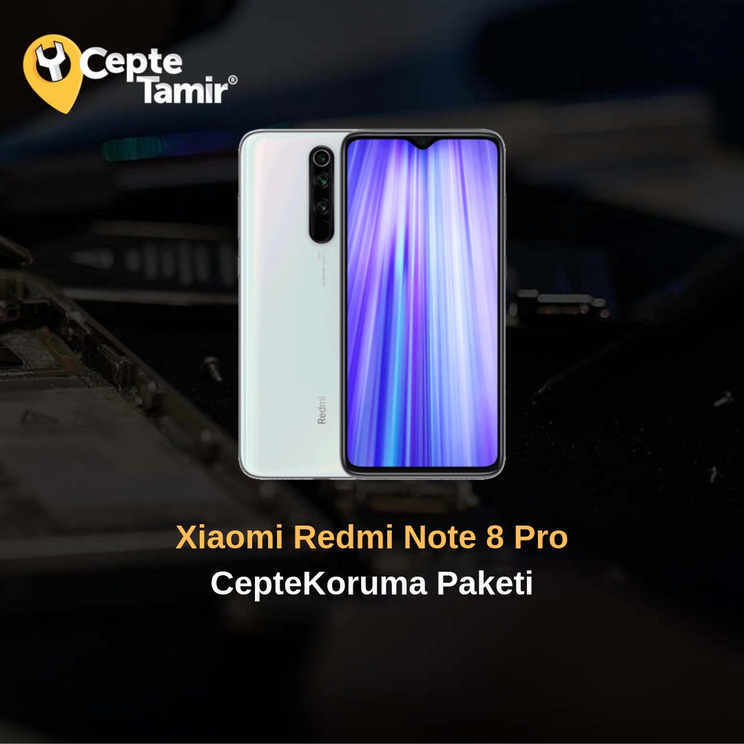 Xiaomi Redmi Note 8 Pro CepteKoruma Paketi